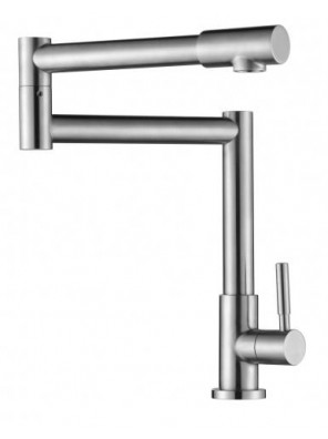 BARENO PLUS S/S Pillar Sink Tap -SS-PST-306A