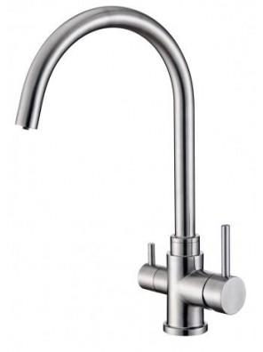 BARENO PLUS S/S Sink Mixer c/w Filter-SS-SMWF103