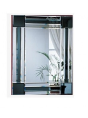 BARENO Rectangular Bathroom Mirror 600x800mm B-G0621