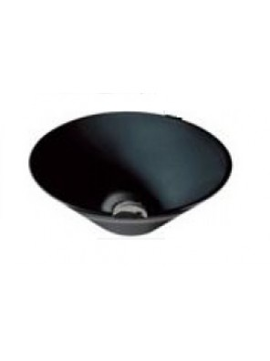 BARENO Round Counter Top Basin (Black) K70B