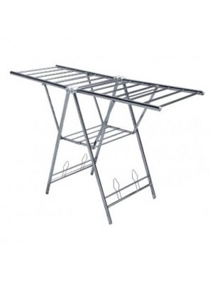 BARENO S/S F/Standing Foldable Cloth Hanger-SSFCH-3