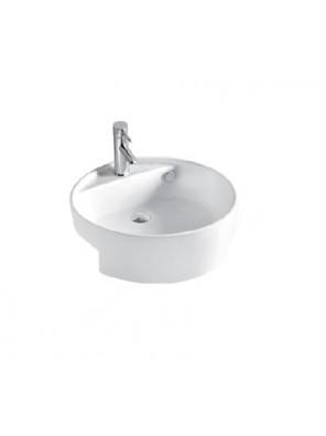 BARENO Semi Recessed Basin Size:430x430x180mm (White) W3302