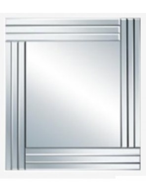 BARENO Square Bathroom Mirror 600x600mm B-G0620