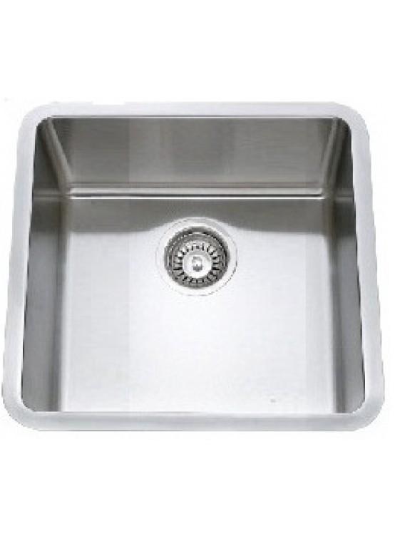BARENO SS 304 1 Bowl Undermount Sink (1.5mm Thk) UM3053