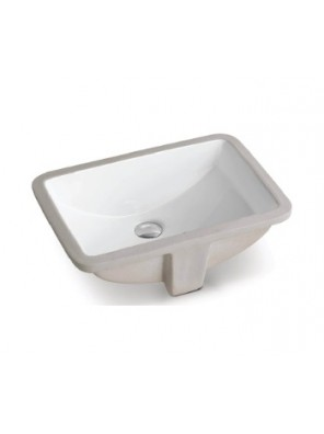 BARENO Under Counter Basin Size: 535x375x210mm (White) W3101