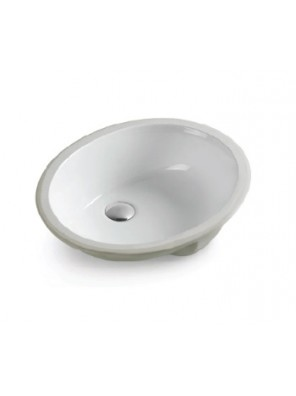 BARENO Under Counter Basin Size:600x390x185mm (White) W3102
