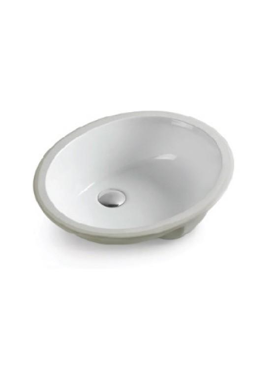 BARENO Under Counter Basin Size:600x390x185mm (White) W3102