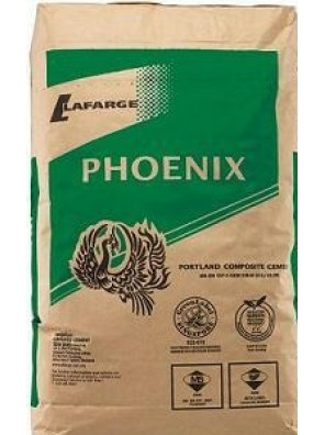 Cement Phoenix 50kg/bag (800bag Palletised) (North Region)