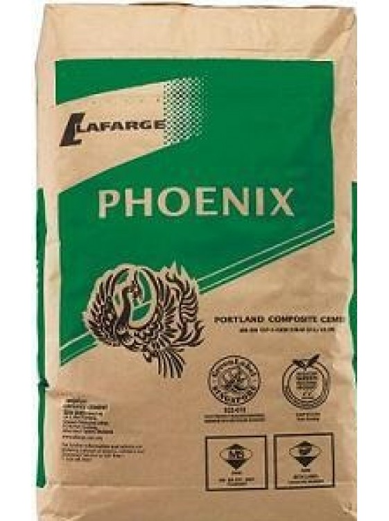 Cement Phoenix 50kg/bag (800bag Palletised) (Central Region)