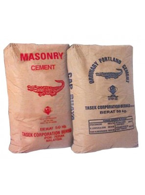 Cement Tasek  50kg/bag (800bag Palletised) (North Region)