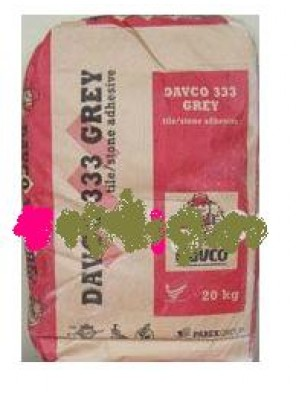 DAVCO 333 Tile Adhesive Cement Grey 20kg/bag