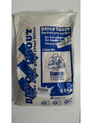 DAVCO Colour Grout Joint Filler 3.5kg (116) Light Almond