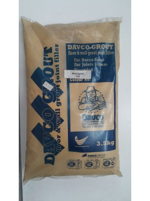 DAVCO Colour Grout Joint Filler 3.5kg (122) Manigold