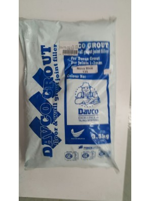 DAVCO Colour Grout Joint Filler 3.5kg (135) Nova Blue