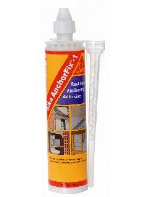 SIKA Anchorfix-1 Fast Curing Anchoring Adhesive L/Grey-300ml