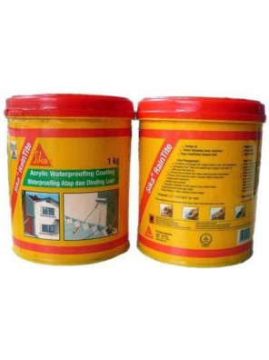 SIKA Raintilte 1kg Acrylic Waterproofing Coating Transparent