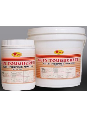 SCP SCIN Toughcrete Multi Purpose Mortar White 5kg