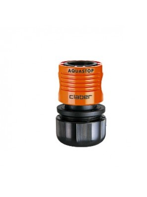 """CLABER 3/4"""" Automatic Coupling with Aquastop 48605"""