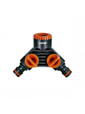 CLABER Double Tap Connector  48599