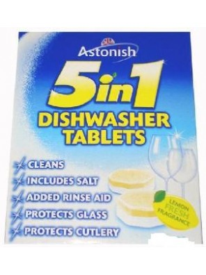 ASTONISH 42 Tabs 5in1 Dishwasher Tablets C2180