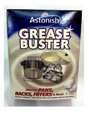ASTONISH 5 Tabs x 20g Grease Buster C2195