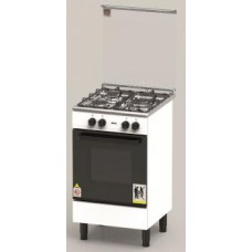 ZANUSSI 60cm Free Standing 3 Gas Burner & Gas Oven -ZCG530W