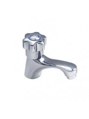 DOE 1/2'' Brass Cp Tiara Pillar Tap W/O Handle PT80