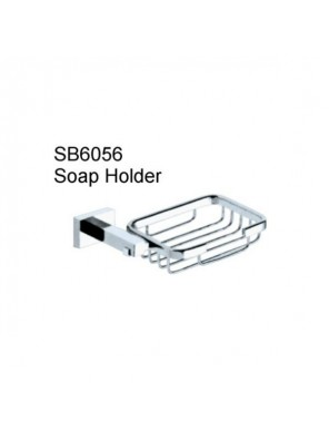 DOE Chrome Plated Brass Soap Holder   SB6056