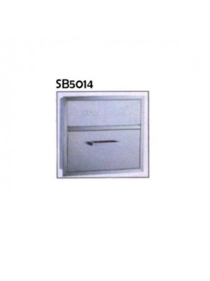 DOE S/S DOE NApkin Disposal-Surface Mounted;  SB5014