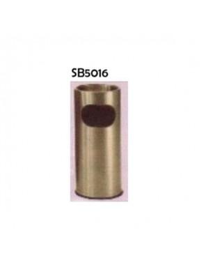 DOE S/S Round Ash & Trash Receptacle-1.4L Capacity; SB5016