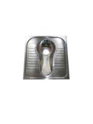 DOE S/Steel Wc Squatting Pan C/W Outlet Nozzle DE802WC