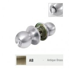 ST.GUCHI  Tubular knobset Entrance (A.Brass) TL 527 / SGTL-527