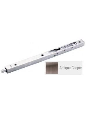 """GERE Box Type Flush Bolt 18"""" Antique Copper GFB2-18M11"""