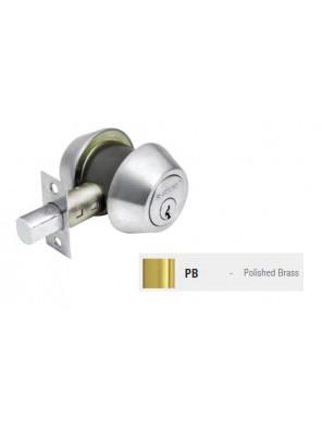 ST.GUCHI Brass Double Dead Bolt (D272-PB) SGDB-D272