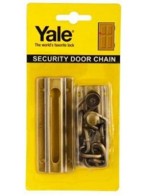YALE  Door Chain(A.Brass)V1037(US5)
