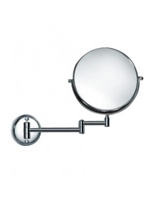 ROCCONI 200mm Shaving Mirror SUS304 (Chrome) RCN 316L