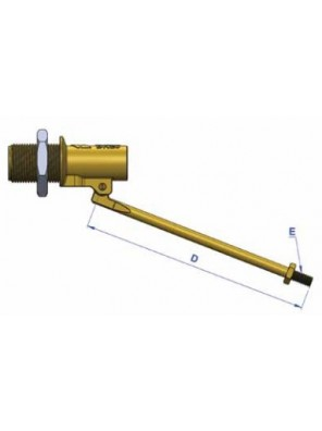 "G-Kent Brass Ball Float Valve H/Duty 15mm (1/2"")"