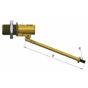 "G-Kent Brass Ball Float Valve L/Duty 15mm (1/2"")"