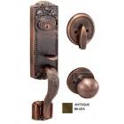 GERE  Solid Brass Handleset Dummy M5-Antique Brass G29005