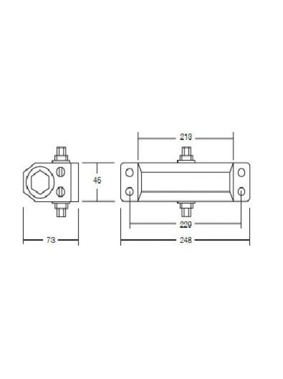 GERE En Standard Door Closer With Back Check G806Bc