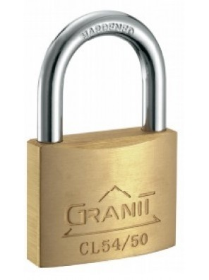 GERE 15mmx4pc Key Alike Solid Brass Padlock CL541504KA