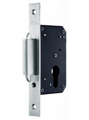 GERE 40mm Sliding Mortise Door Lock Ent. GML40SD