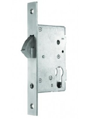 GERE 50mm Sliding Door Hook Lock Ent GML50DH