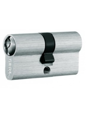 GERE 60mm Cylinder Double Keyed S.Chrome GC600D-M26D