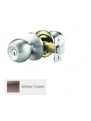 GERE ANSI 3 One Pc H/D Tubular Lock  A.Copper G9770-M11