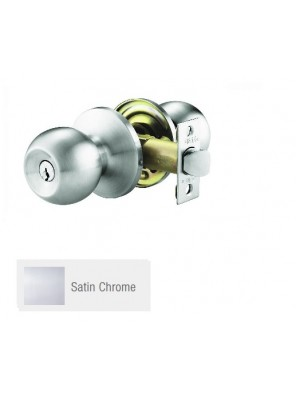 GERE ANSI 3 One Pc H/D Tubular Lock Ent. S.Chrome G9771-M26D