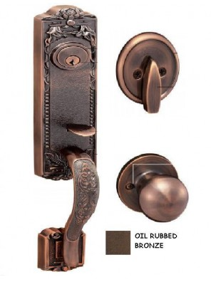 GERE  Brass Handleset Dummy M10B-Oil Rubbed Bronze G29005