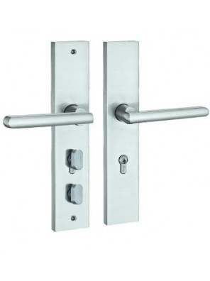 GERE  Function Leverset W Safety Bolt Ent M26D-Satin Gl8407
