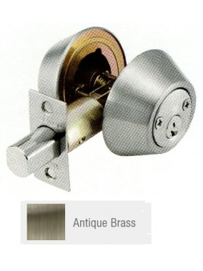 GERE G3100 Std.Duty Double Cyl.Deadbolt A.Brass G3102-M5