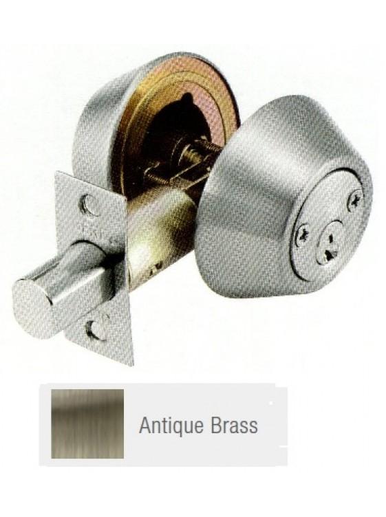 GERE G3100 Std.Duty Double Cyl.Deadbolt A.Brass G3102-M5